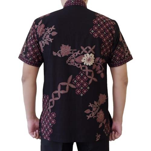 Gambar Kemeja Batik Koko Lengan Pendek