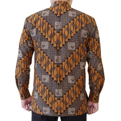 Gambar Kemeja Batik Pria Lereng Parang
