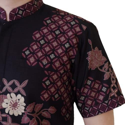 Images Kemeja Batik Koko Lengan Pendek