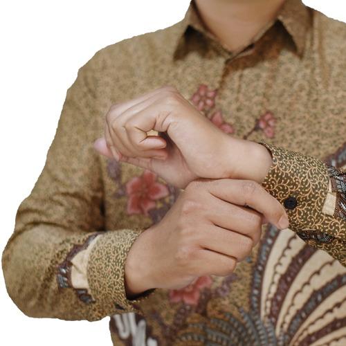 Images Kemeja Batik Pria Merak Liris