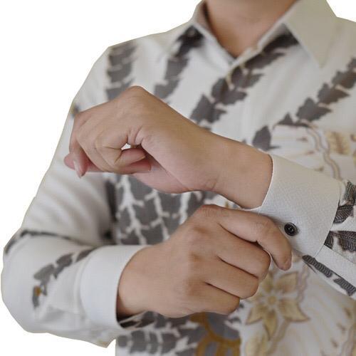 Images Kemeja Batik Sekar Kulila Putih