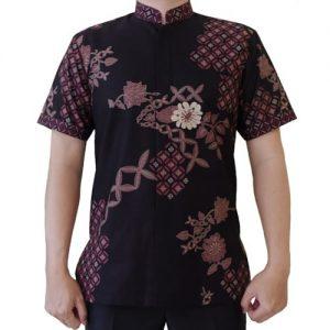 Kemeja Batik Koko Lengan Pendek