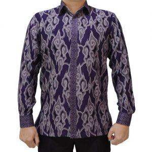Kemeja Batik Mega Mendung Klasik