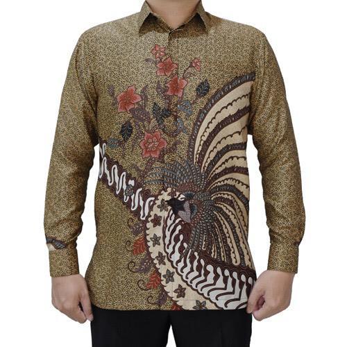 Kemeja Batik Pria Merak Liris