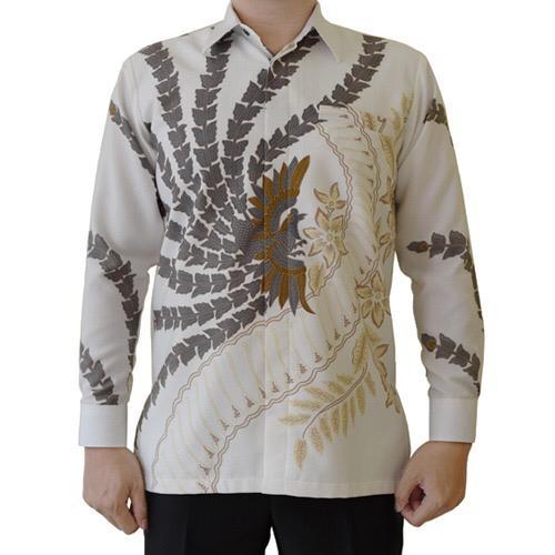 Kemeja Batik Sekar Kulila Putih