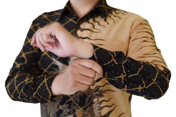 Images Kemeja Batik Pria Two Tone