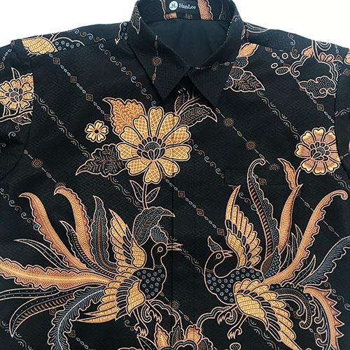 Pictures Kemeja Batik Semi Sutra Modern